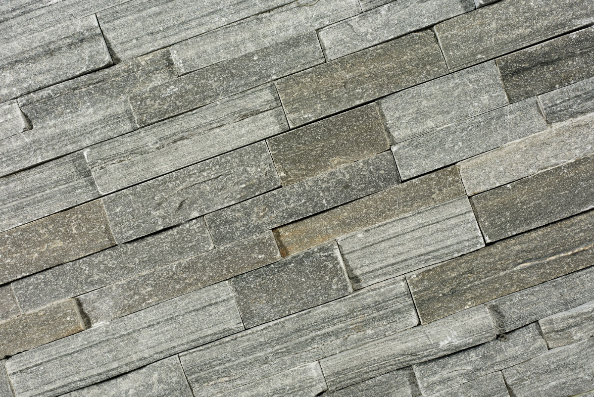 TSN-028 Stone Panels Grey Quarzite