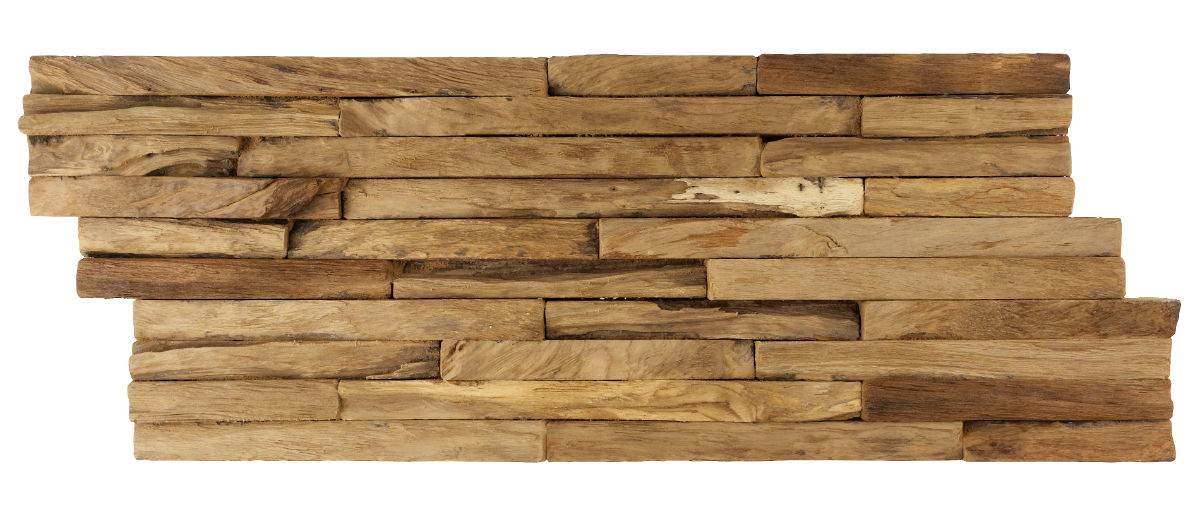TSN-161 Teak Wood Cladding Erotic strip 2 cm