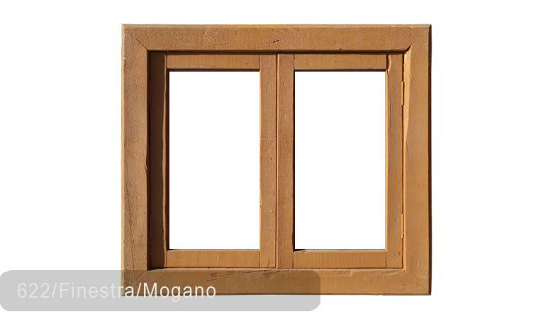 TSN-622 Window Finestra Mogano