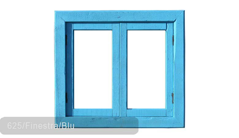 TSN-625 Window Finestra Blu