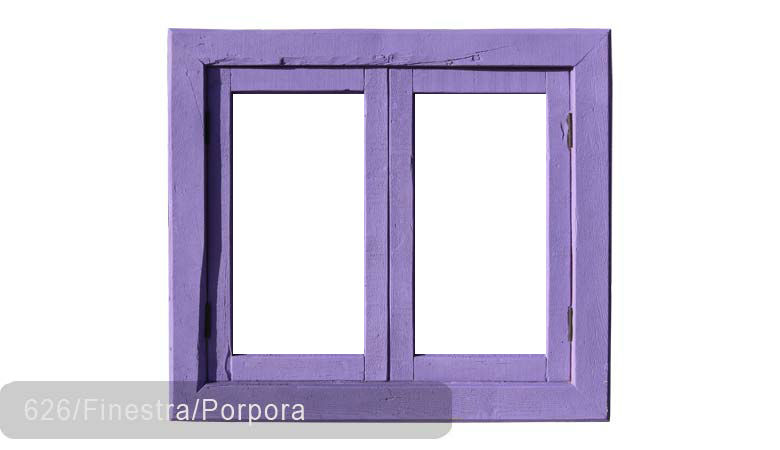 TSN-626 Window Finestra Porpora