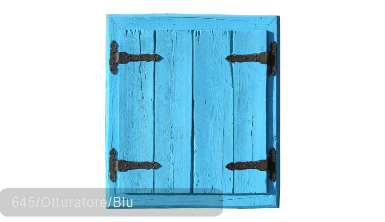 TSN-645 Window Otturatore Blu