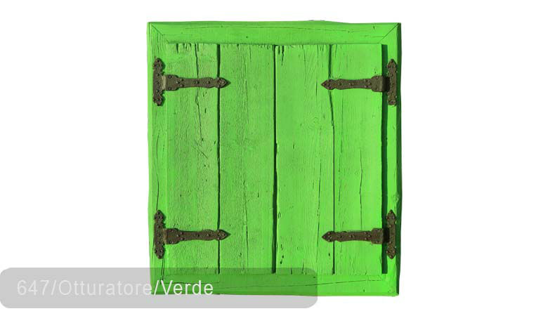TSN-647 Window Otturatore Verde